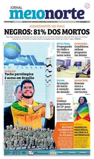 Jornal Meio Norte do dia 26-08-2016