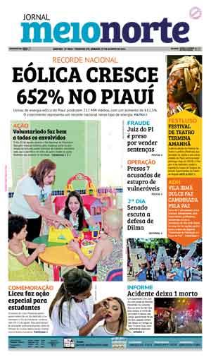 Jornal Meio Norte do dia 27-08-2016
