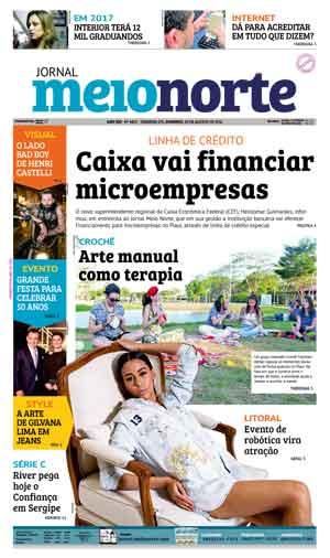 Jornal Meio Norte do dia 28-08-2016