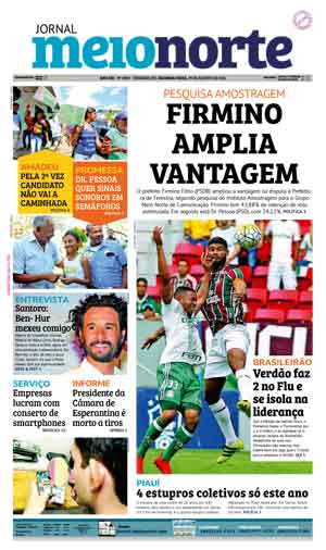 Jornal Meio Norte do dia 29-08-2016