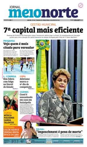 Jornal Meio Norte do dia 30-08-2016