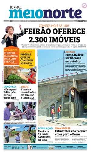 Jornal Meio Norte do dia 31-08-2016