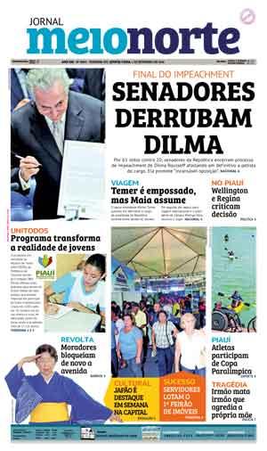 Jornal Meio Norte do dia 1-09-2016