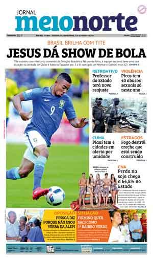 Jornal Meio Norte do dia 2-09-2016