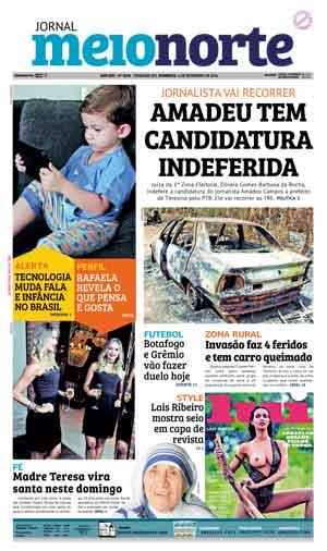 Jornal Meio Norte do dia 4-09-2016