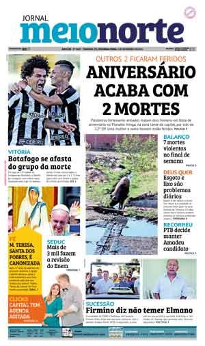 Jornal Meio Norte do dia 5-09-2016