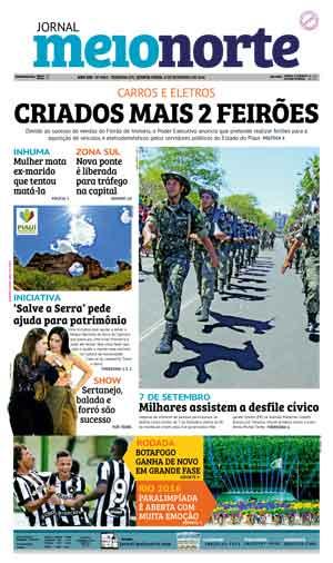 Jornal Meio Norte do dia 8-09-2016