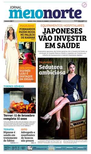 Jornal Meio Norte do dia 11-09-2016