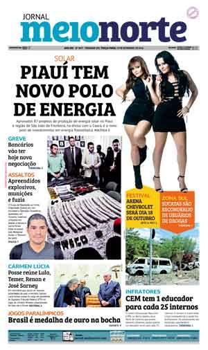 Jornal Meio Norte do dia 13-09-2016