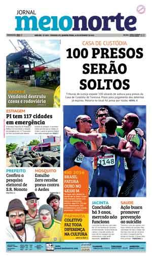 Jornal Meio Norte do dia 14-09-2016