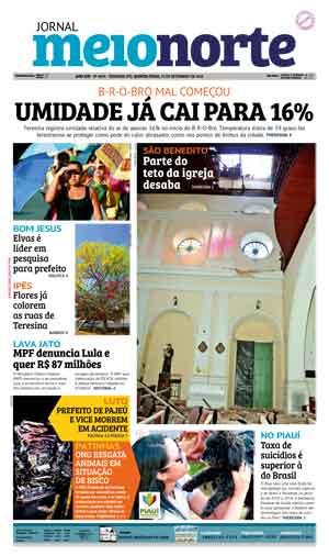 Jornal Meio Norte do dia 15-09-2016