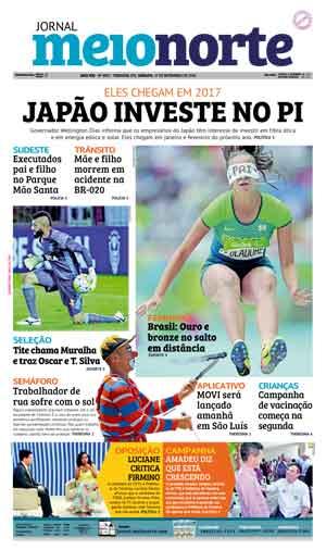 Jornal Meio Norte do dia 17-09-2016