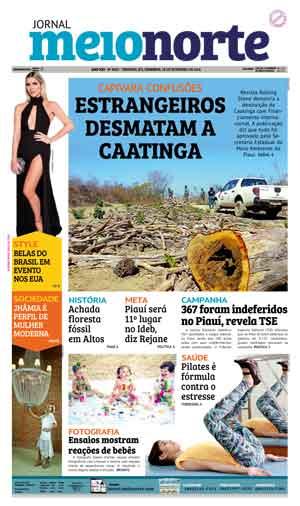 Jornal Meio Norte do dia 18-09-2016