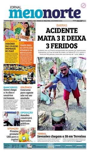 Jornal Meio Norte do dia 20-09-2016
