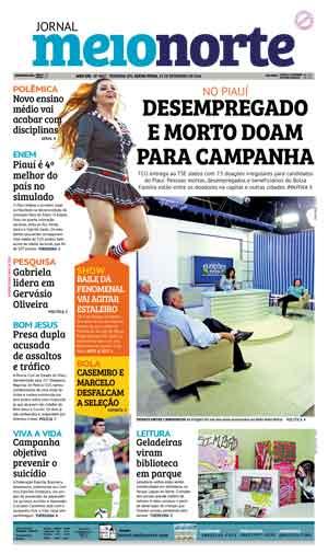 Jornal Meio Norte do dia 23-09-2016