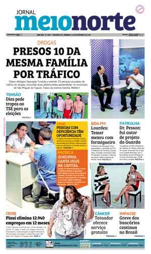 Jornal Meio Norte do dia 24-09-2016