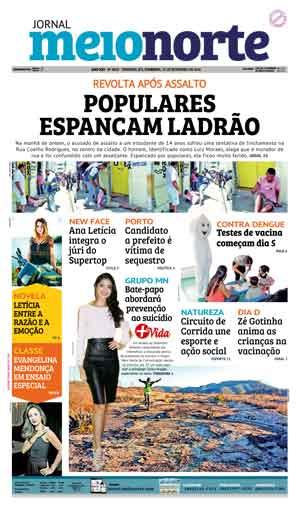 Jornal Meio Norte do dia 25-09-2016