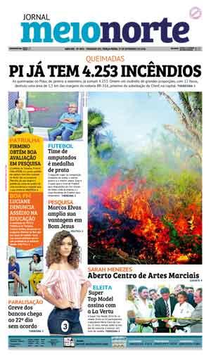 Jornal Meio Norte do dia 27-09-2016