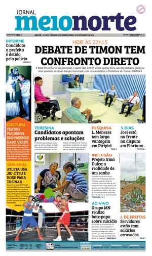 Jornal Meio Norte do dia 29-09-2016