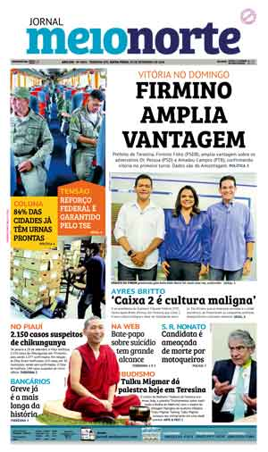 Jornal Meio Norte do dia 30-09-2016