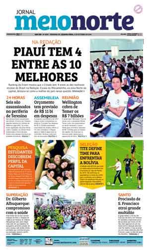 Jornal Meio Norte do dia 5-10-2016