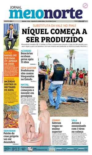 Jornal Meio Norte do dia 7-10-2016
