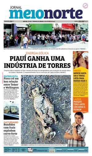 Jornal Meio Norte do dia 8-10-2016