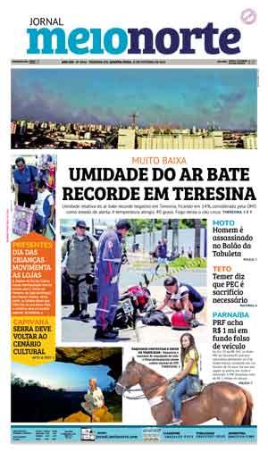 Jornal Meio Norte do dia 12-10-2016