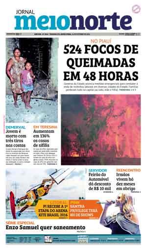 Jornal Meio Norte do dia 14-10-2016
