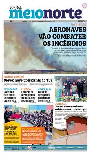 Jornal Meio Norte do dia 15-10-2016