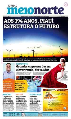 Jornal Meio Norte do dia 19-10-2016