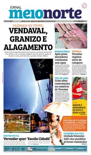 Jornal Meio Norte do dia 21-10-2016