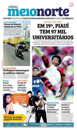 Jornal Meio Norte do dia 24-10-2016