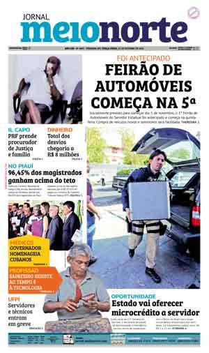 Jornal Meio Norte do dia 25-10-2016