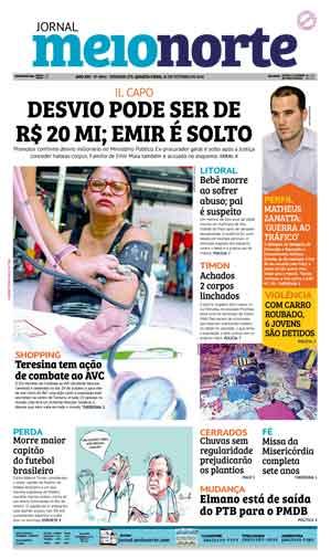 Jornal Meio Norte do dia 26-10-2016
