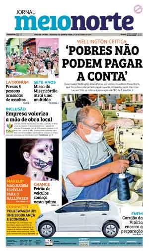 Jornal Meio Norte do dia 27-10-2016