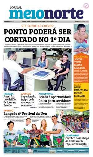 Jornal Meio Norte do dia 28-10-2016