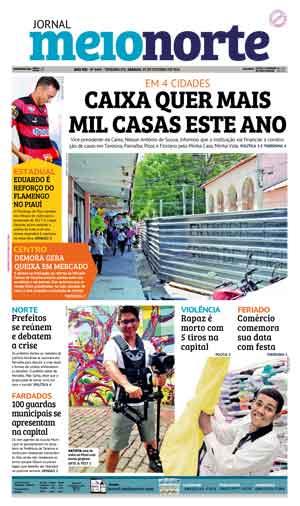 Jornal Meio Norte do dia 29-10-2016