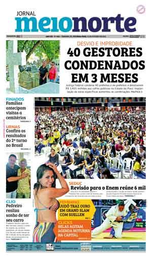 Jornal Meio Norte do dia 31-10-2016