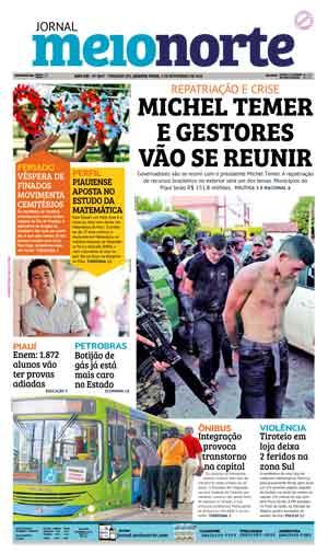 Jornal Meio Norte do dia 2-11-2016