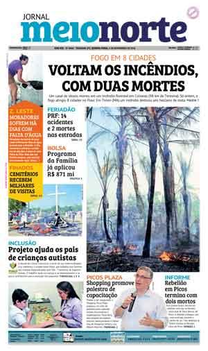 Jornal Meio Norte do dia 3-11-2016