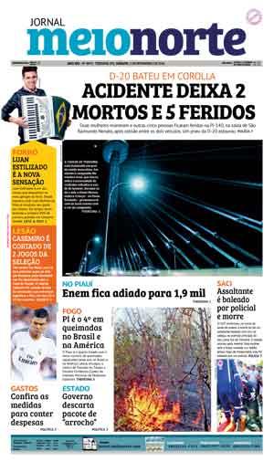 Jornal Meio Norte do dia 5-11-2016