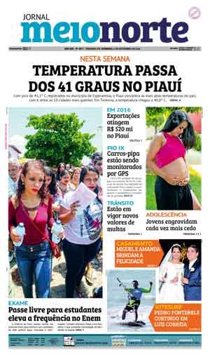 Jornal Meio Norte do dia 6-11-2016