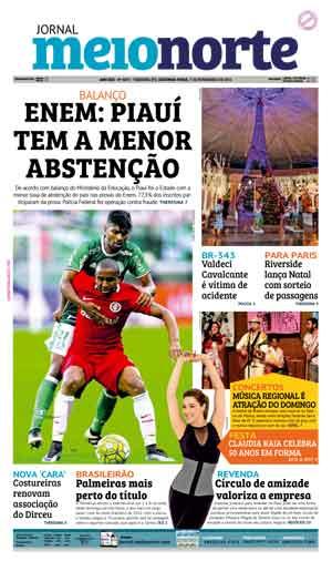Jornal Meio Norte do dia 7-11-2016