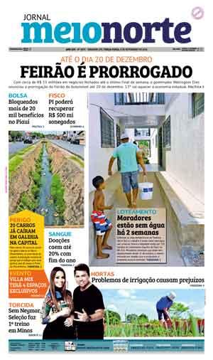 Jornal Meio Norte do dia 8-11-2016