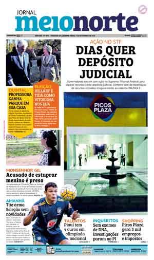 Jornal Meio Norte do dia 9-11-2016
