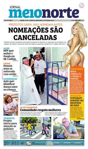 Jornal Meio Norte do dia 11-11-2016