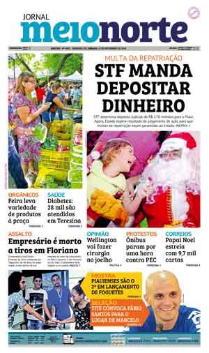 Jornal Meio Norte do dia 12-11-2016
