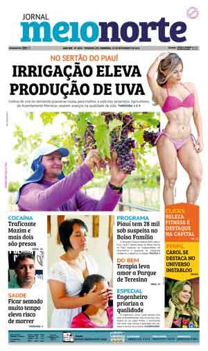Jornal Meio Norte do dia 13-11-2016