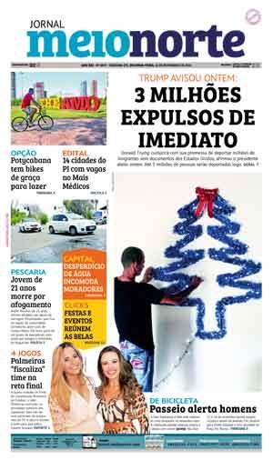 Jornal Meio Norte do dia 14-11-2016